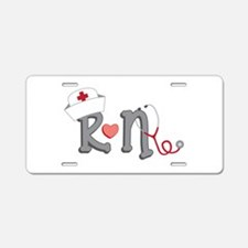 Registered Nurse Aluminum License Plate