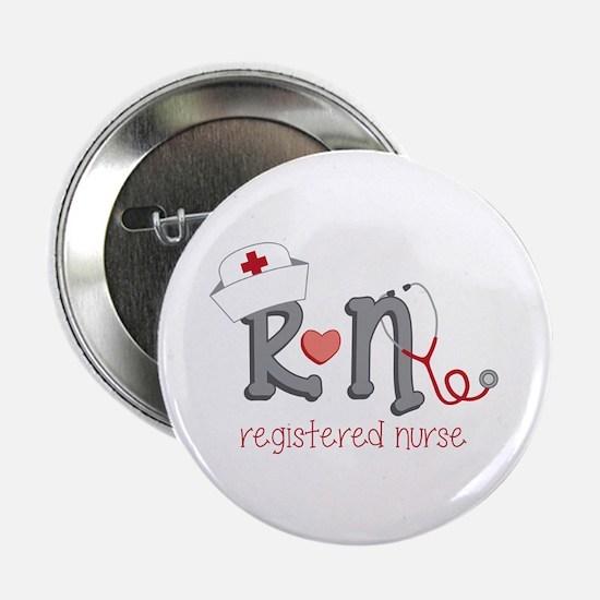 "Registered Nurse 2.25"" Button (10 pack)"
