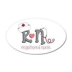 Registered Nurse Wall Decal
