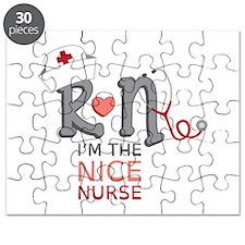 I'm The Nice Nurse Puzzle
