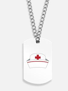 Nurse Hat Dog Tags