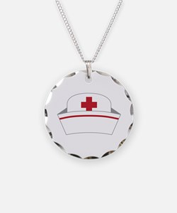 Nurse Hat Necklace