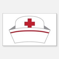 Nurse Hat Decal