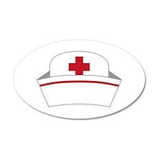 Nurse Hat Wall Decal