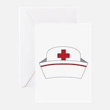 Nurse Hat Greeting Cards