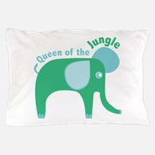Queen Of The Jungle Pillow Case