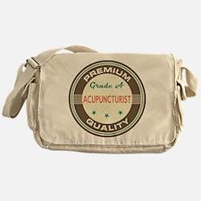 Acupuncturist Vintage Messenger Bag