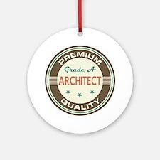 Architect Vintage Ornament (Round)