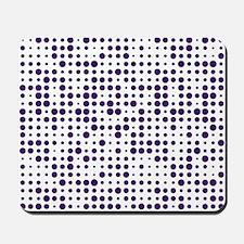 Purple Dots Mousepad