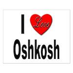 I Love Oshkosh Small Poster