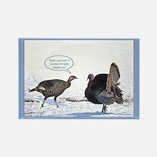 Thanksgiving Turkeys Magnets