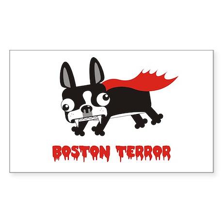Boston Terror sticker