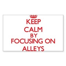 Alleys Decal