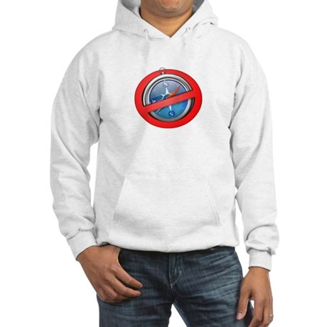 Safari Sucks Hooded Sweatshirt