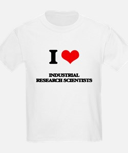 I love Industrial Research Scientists T-Shirt
