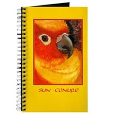 Sunny Conure Parrot Journal