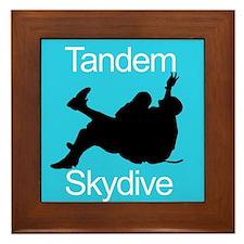 Tandem Skydive Framed Tile
