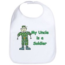 My Uncle is a Soldier Bib