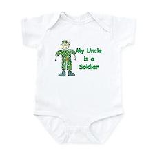 My Uncle is a Soldier Infant Bodysuit