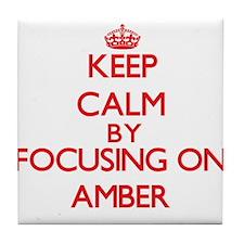 Amber Tile Coaster