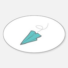 Paper Airplane Decal