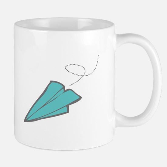 Paper Airplane Mugs