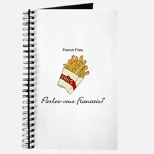 French Fries French Language Journal