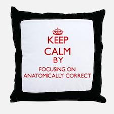 Anatomically Correct Throw Pillow