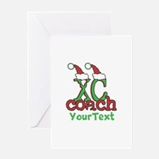 Customize XC Coach Holiday Greeting Cards