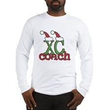XC Holiday Cross Country Coach Long Sleeve T-Shirt