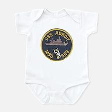 USS ADROIT Infant Bodysuit