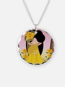 Harmony Kokeshi Doll Necklace