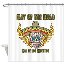 Day Of The Dead-Dia De Los Shower Curtain