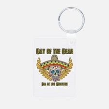 Day Of The Dead-Dia De Los Keychains