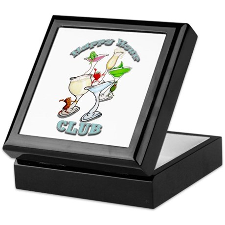 Happy Hour Club Keepsake Box