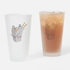 Soy Sauce Drinking Glass