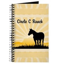 Western Custom Text Journal