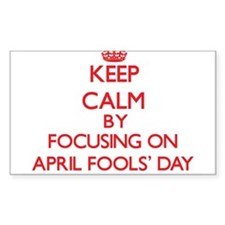 April Fools' Day Decal
