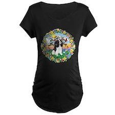 Wreath - Cavalier (Tri) T-Shirt