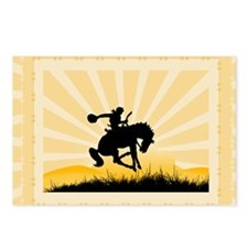 Bronc Rider Postcards (Package of 8)