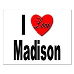 I Love Madison Small Poster