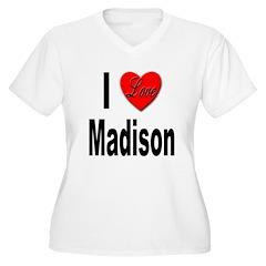 I Love Madison (Front) T-Shirt
