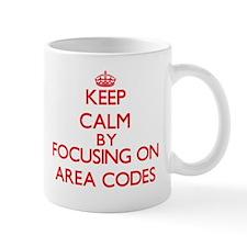 Area Codes Mugs