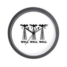 Well Well Well Wall Clock