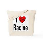 I Love Racine Tote Bag