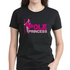 POLE PRINCESS with sexy lady and pole T-Shirt