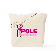 POLE PRINCESS with sexy lady and pole Tote Bag