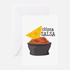 Chips & Salsa Greeting Cards