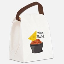 Chips & Salsa Canvas Lunch Bag
