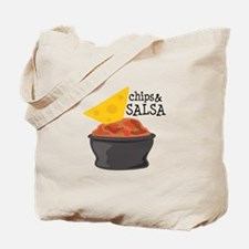Chips & Salsa Tote Bag